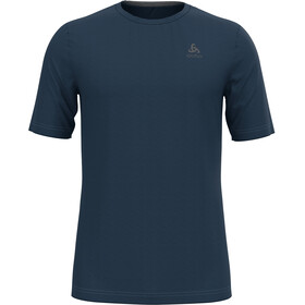 Odlo Natural Merino Crew T-shirt Nekrits Heren, blue wing teal